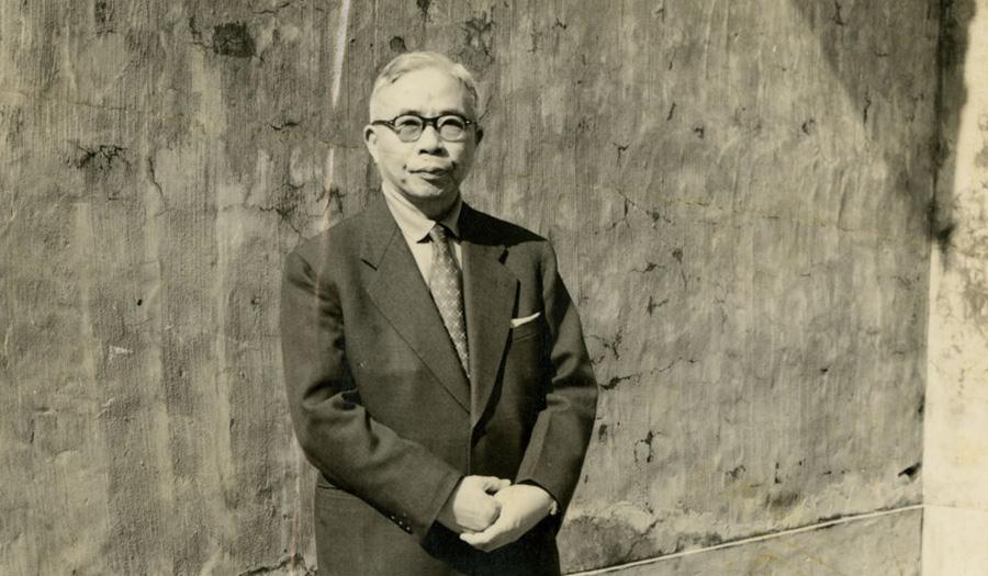 王世杰先生攝於1964年